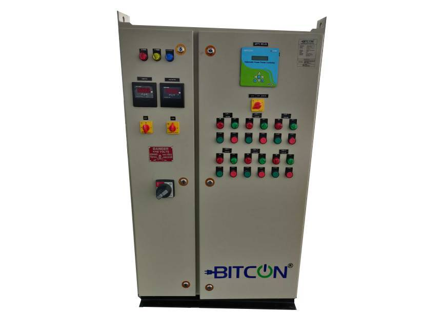 Automatic PF Correction (APFC) Panels - BITCON BITMatic PFC by E-Cube Energy
